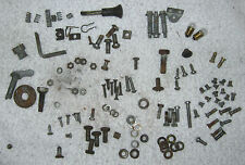 Morris Minor Miscellaneous Hardware Lot Screws Nuts Brackets 1960 (?) Used Orig