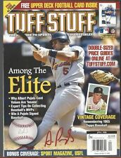 April 17th 2006 Tuff Stuff Card Magazine Features Albert Pujols On Cover