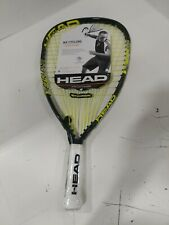 New listing NWT HEAD Metallix MX Cyclone Racquetball Racquet 223007-S05-11-CN, Strung, 3 5/8