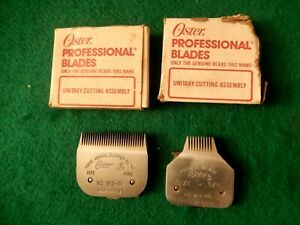 { Oster Home Amimal Clipper Blade Model No.A2  Fine 913-61 & No. 913-65 5/8 pood