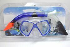 McWELL Schnorchel Set Tauchen Schwimmen Wassersport Taucherbrille Schnorchel