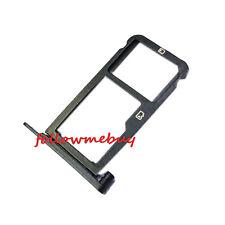 "Micro SD SIM Card Slot Holder Tray For ZTE Blade X Z965 Cricket 5.5"" LTE Black"