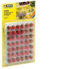 Noch HO Scale Grass Tufts Red Blooming X-large # 07025 Suit Model Train