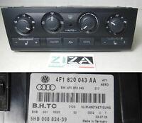 Centralina Comando A/C Clima Climatronic Audi A6 C6 2.7 132kw 180cv 4F1820043AA