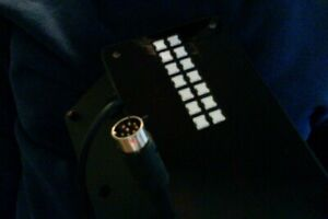"""Meade Telescope Parts """"Control Panel & Mounting Plate""""  Computer Part # 9005"""
