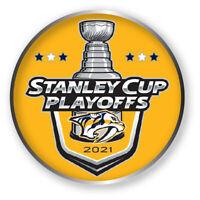 NASHVILLE PREDATORS PLAYOFFS PIN 2020 - 2021 NHL STANLEY CUP FINAL ?HOCKEY CHAMP