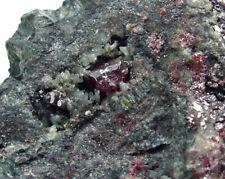 Cinabrio, Mina Las Cuevas, Almadén, Ciudad Real, España, Minéraux, Minerals
