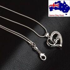 Unbranded Rhinestone Love & Hearts Fashion Necklaces & Pendants