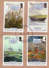 FALKLAND ISLANDS Journal  used on piece Superb.