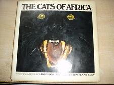 THE CATS OF AFRICA,1968,John Dominis & Maitland Edey HC.DJ