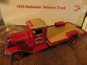 Danbury Mint 1933 Budweiser Delivery Truck Diecast In Box No Paperwork 1:24