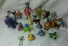 Disney Figure lot cake topper Peter pan, monsters, toy story, pooh corner, beast