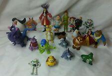 Disney Figure lot cake topper Peter pan, monsters, toy story, pooh corner, beast