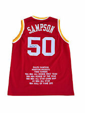 Ralph Sampson Signed Houston Rockets Jersey TRISTAR