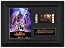 Avengers: Infinity War Stunning framed 35mm film cell display Cast Signed s2