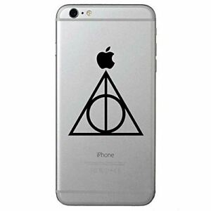 Potter Deathly Hallows Symbol Phone Decal Stickers