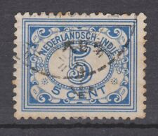 CELEBES 42 OVERPRINT ANCHOR 10z used JAPANESE OCCUPATION Japanse bezetting