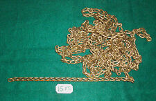 15 Ft. SOLID BRASS CHAIN-d
