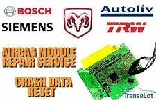 DODGE AIRBAG ECU SRS ECU AIRBAG MODULE CRASH DATA RESET REPAIR SERVICE
