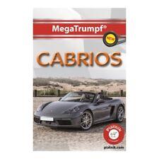 Piatnik 423611 - MegaTrumpf® Quartett Cabrios, 32 Karten