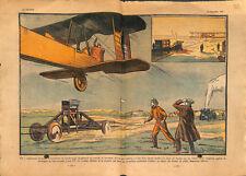 Farnborough Airport avions chariot mobile catapulte Angleterre ILLUSTRATION 1931