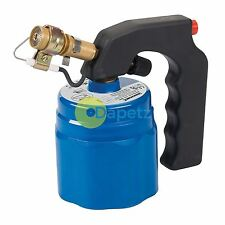 Butane Blow Torch For Use 190G Canister Solder Gas Plumbing Camping