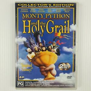 Monty Python and the Holy Grail - 2 Disc Collector's Edition DVD - R4 - TRACKED