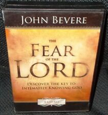 John Bevere The Fear of The Lord Intimately Knowing God Christian 4 Audio CD Set