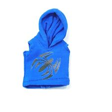 Su-Ssh-Spd: 1/12 Blue hoodie for Marvel Legends Scarlet Spiderman (No Figure)
