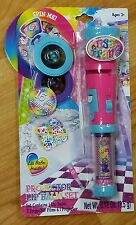 Lisa Frank Projector Lip Balm Set (16 Fun Images to Project on the Wall) NIP