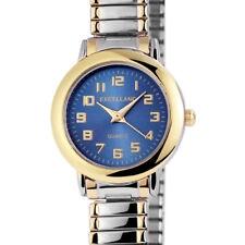 Excellanc Damenuhr mit Metall-Zugband Analog Quarz Rund Klassische Armbanduhr