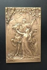 Universal International Exposition of Ghent, 1913 French Section Plaquette / M74