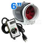 Vortex S-600 Mixed Flow Fan 6 inch Power Fans 6
