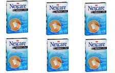 30 Nexcare Tegaderm Pads 2 3/8 x 4 Waterproof Transparent Sterile 3M 6 Boxes NEW