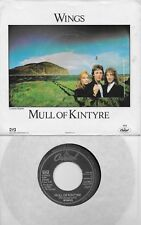 PAUL McCARTNEY Mull Of Kintyre / Girls School rare 45 with PicSleeve THE BEATLES