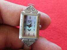 Roxy Quiksilver Stainless Steel Ladies Watch. Works Well.