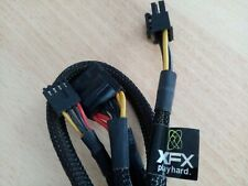 XFX modular connector (6 Pin,3x IDE Molex + FDD power supply cable)