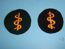 b4553 WW2 German Army Qualification Patch Medical Personnel