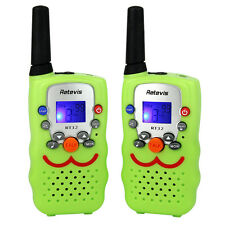 Xmas Retevis RT32 Walkie Talkie Kinder UHF446Mhz 0,5W 8 Kanäle PMR Funkgeräte