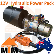 12V DC Hydraulic Power Pack Power Unit for Tipper / Tail Gate (Tailgate) 4L Tank
