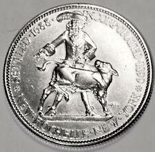 1938 New Rochelle Commemorative Half Dollar SUPER UNC COIN
