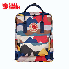 Fjallraven Kan ken 16L Army camouflage Backpack School Waterproof Canvas Bag