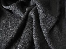 VISCOSE TWILL-GREY -DRESS FABRIC -FREE P+P