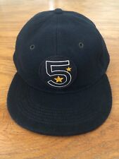 POLO RALPH LAUREN RRL NAVAL ACADEMY 6 PANEL 5 STAR LEATHER SWEATBAND WOOL LG HAT