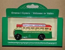 Hornby/Corgi LlanfairPG Metal Diecast Old Fashioned Bus Coach