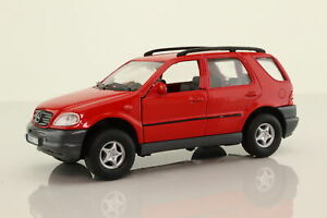 Welly; Mercedes-Benz M Class; ML320; Red; V Good Unboxed