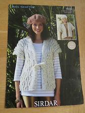 Sirdar Big Softie Pattern No 9832 Sweater