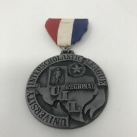 University Interscholastic League 1981 Track 5A Texas Championship Issued Medal