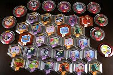 LOT 38 POWER DISC Disney Infinity Star Wars Frozen Marvel Ralph Dumbo Spiderman