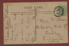 Miss Williams, Seedley Park Road, Salford, Manchester   postcard zd.249